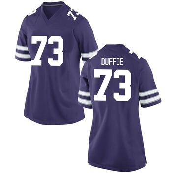 Women's Christian Duffie Kansas State Wildcats Nike Game Purple Football College Jersey