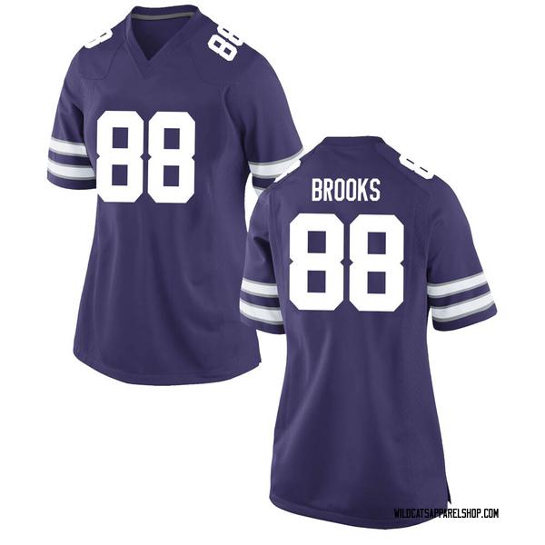 Women's Phillip Brooks III Kansas State Wildcats Nike Replica Purple Football College Jersey