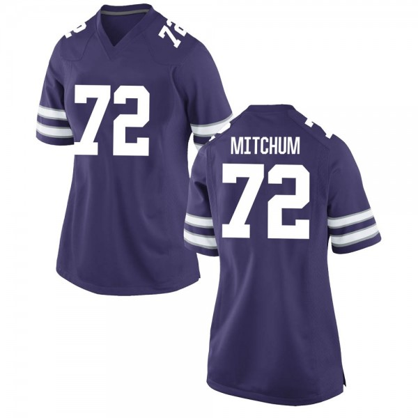 Women's Witt Mitchum Kansas State Wildcats Nike Replica Purple Football College Jersey