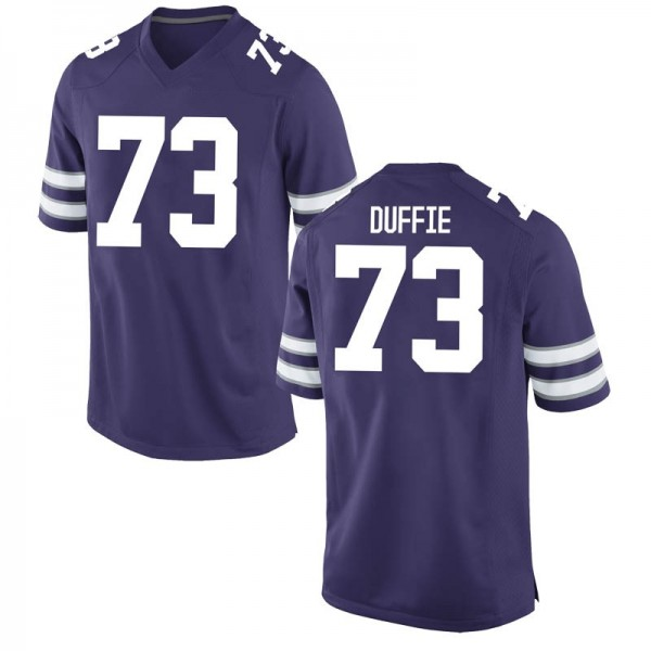 Youth Christian Duffie Kansas State Wildcats Nike Game Purple Football College Jersey