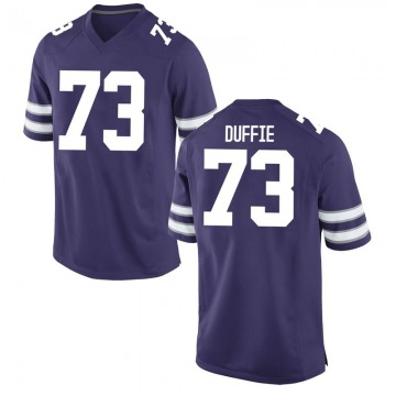 Youth Christian Duffie Kansas State Wildcats Nike Replica Purple Football College Jersey